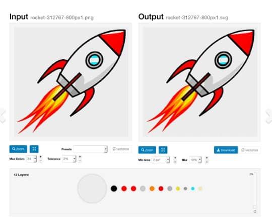 Transformar imagem para vectorial 1